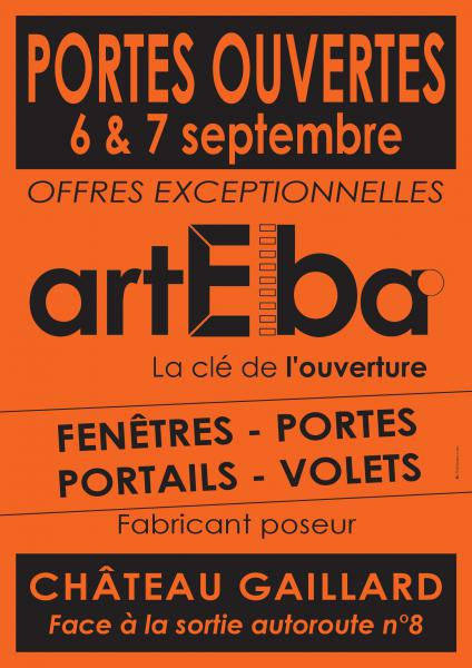 Portes Ouverts ARTEBA Chateau-Gaillard (01)