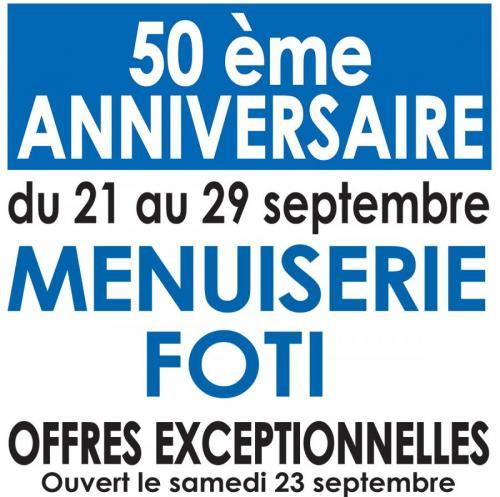 Les 50 ans de la Menuiserie Foti