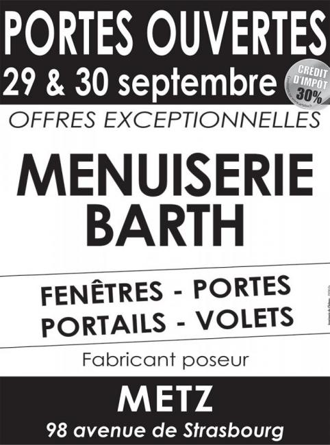 Portes Ouvertes Menuiserie Barth