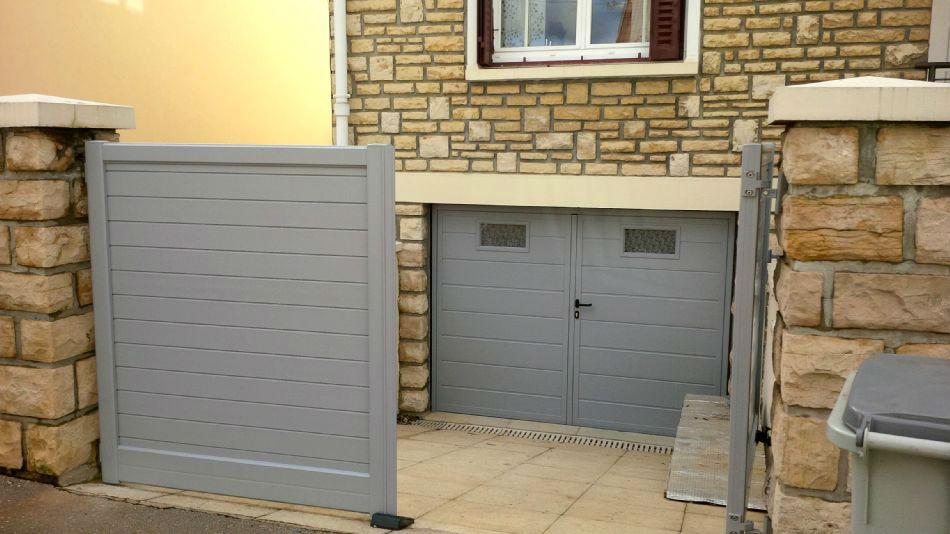 Pose et remplacement portes de garage manuelles et motoris es - Portes de garage motorisees ...