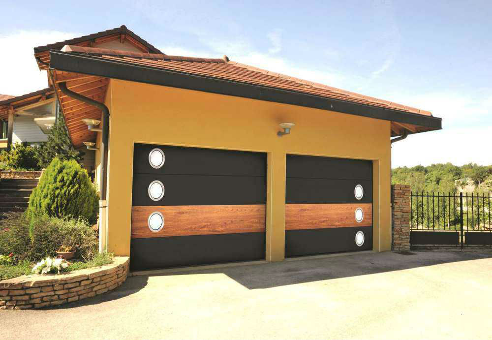 France Fermeture porte garage sectionnelle Miami by Me