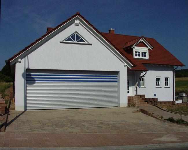 Lakal portes de garage et volets roulants - Porte de garage a refoulement plafond ...
