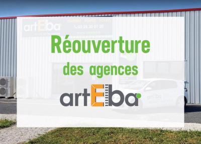 Réouverture agences Arteba