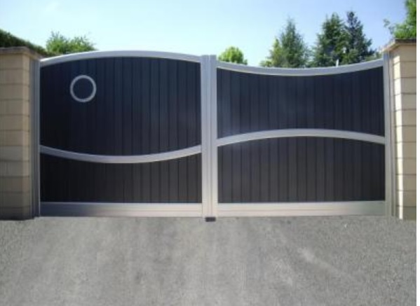 Menuiserie arteba pose de portail portillon et cl ture - Portail maison moderne ...