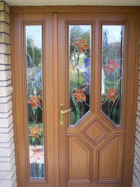Exemples de travaux sur les portes fen tres et volets for Vitrage pour porte interieure