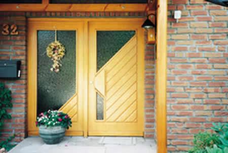 porte dentre bois pose de porte porte double bois - Porte D Entree Double