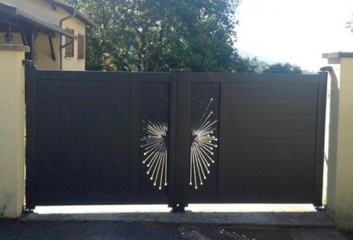 Pose portail dans l'Ain