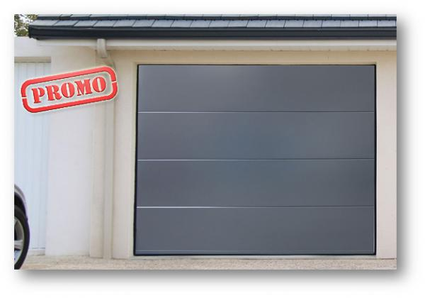 Promotion sur les portes de garage sectionnelles for Porte de garage fame